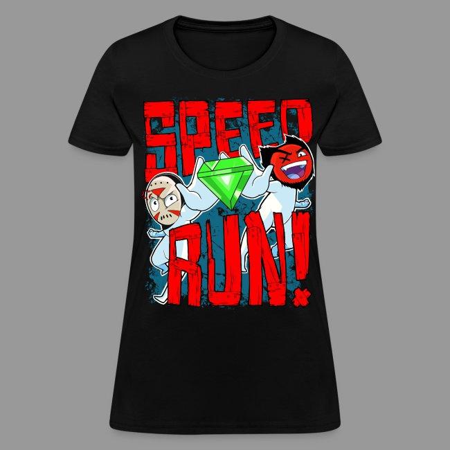 """Women's """"Speed Run!"""" Tee"""