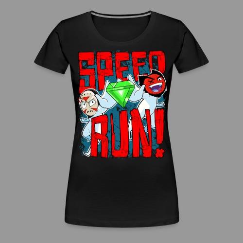 Premium Women's Speed Run! Tee - Women's Premium T-Shirt