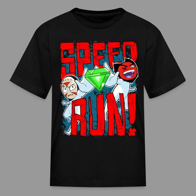 """Kid's """"Speed Run!"""" Tee"""