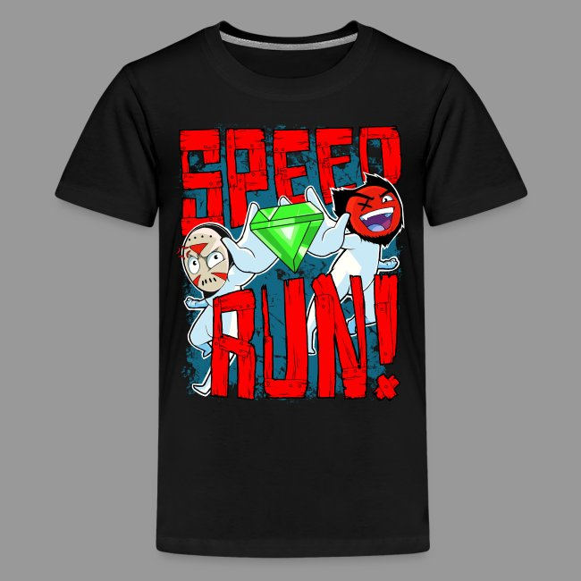 "Premium Kid's ""Speed Run!"" Tee"
