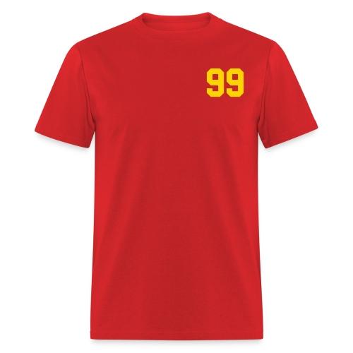 Red 99 Mens Shirt - Men's T-Shirt