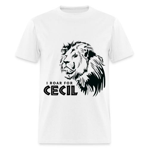 #CecilTheLion t-shirt - Men - Black print - Men's T-Shirt
