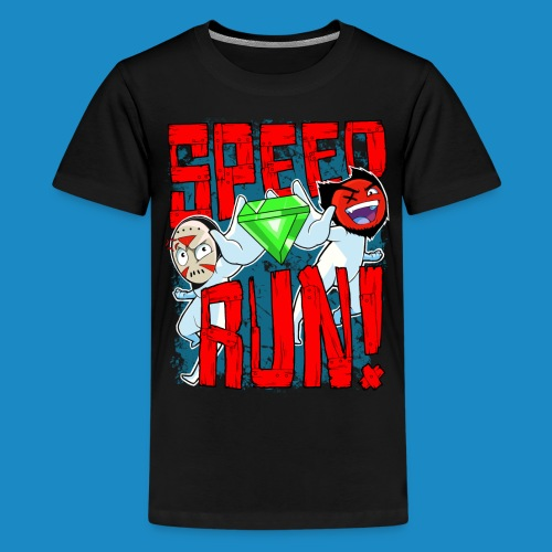 Premium Kids's Speed Run! Tee - Kids' Premium T-Shirt