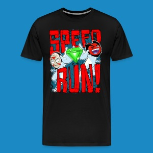 Premium Men's Speed Run! Tee - Men's Premium T-Shirt