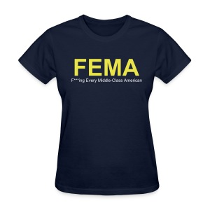 FEMA Ladies T - Women's T-Shirt
