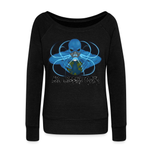 MrCreepyPasta End of the World Woman's Sweatshirt - Women's Wideneck Sweatshirt