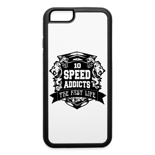 #SpeedAddicts The Fast Life Rubber Case - iPhone 6/6s Rubber Case