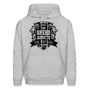 #SpeedAddicts Hoodie - Men's Hoodie
