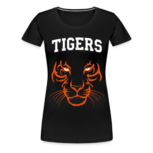 Ladies Tiger Tee BLACK - Women's Premium T-Shirt