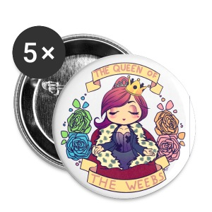 MSL: Queen of the Weebs (Small) - Small Buttons