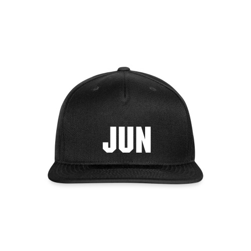 JUN SNAP-BACK - Snap-back Baseball Cap