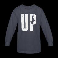 Kids' Shirts ~ Kids' Long Sleeve T-Shirt ~ U.P. Michigan
