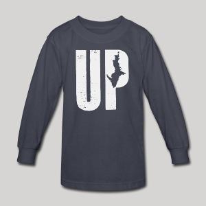 U.P. Michigan - Kids' Long Sleeve T-Shirt