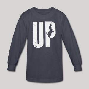 U.P. Michigan - Kids' Long Sleeve T-Shirt