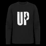 Long Sleeve Shirts ~ Men's Long Sleeve T-Shirt by Next Level ~ U.P. Michigan