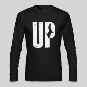 U.P. Michigan - Men's Long Sleeve T-Shirt by Next Level