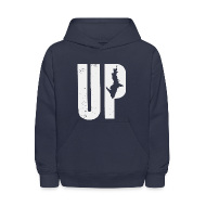 Sweatshirts ~ Kids' Hoodie ~ U.P. Michigan