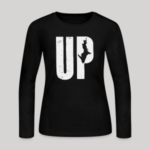 U.P. Michigan - Women's Long Sleeve Jersey T-Shirt