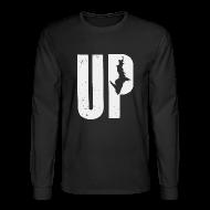 Long Sleeve Shirts ~ Men's Long Sleeve T-Shirt ~ U.P. Michigan