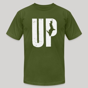 U.P. Michigan - Men's T-Shirt by American Apparel