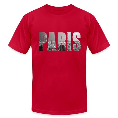 City Limits: Paris Men's T-Shirt  - Men's Fine Jersey T-Shirt