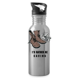 I'd rather be CAVING water bottle - Water Bottle