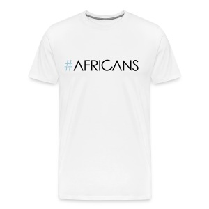 #Africans - Male - White Tee - Men's Premium T-Shirt