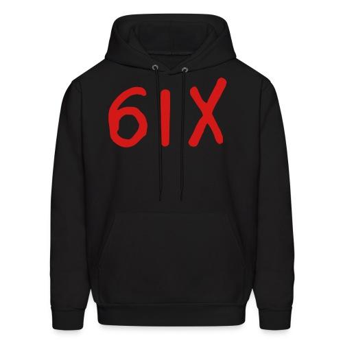 Black 6IX Logo Hoodie - Men's Hoodie