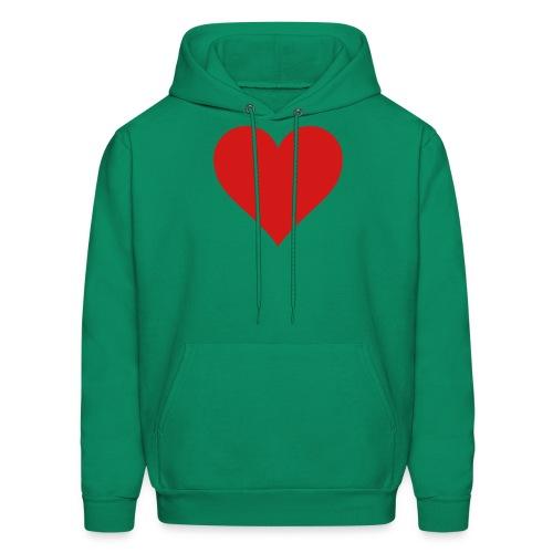 GreenHeart logo Hoodie - Men's Hoodie