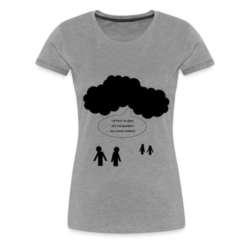 And God Said... (Women's T-Shirt) - Women's Premium T-Shirt
