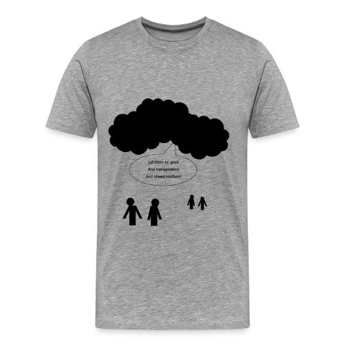 And God Said... (Men's T-Shirt) - Men's Premium T-Shirt