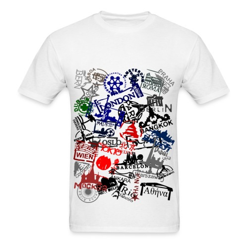 Stamps - Men's T-Shirt
