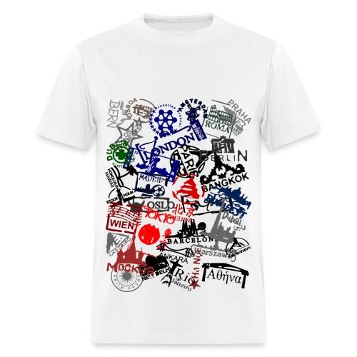 Stamps - Men's T-Shirt