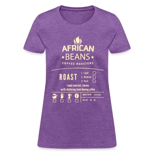 African Beans - Women's T-Shirt