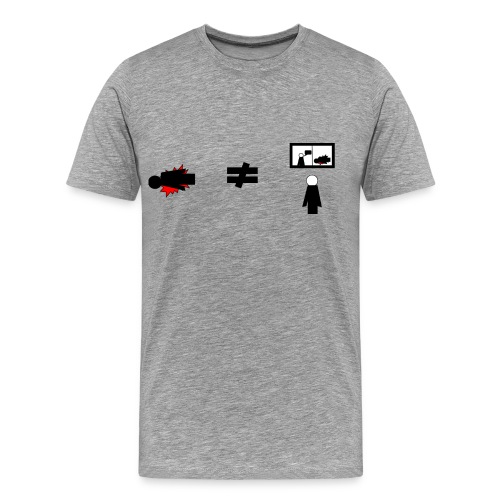 Black Lives Matter (Men's T-Shirt) - Men's Premium T-Shirt