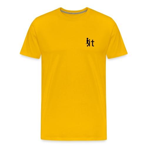Fuck it Tshirt - front - right - Men's Premium T-Shirt