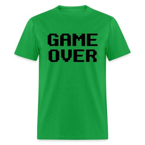 Game Over men's tshirt - Men's T-Shirt