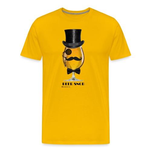 Beer Snob Men's Premium T-Shirt - Men's Premium T-Shirt