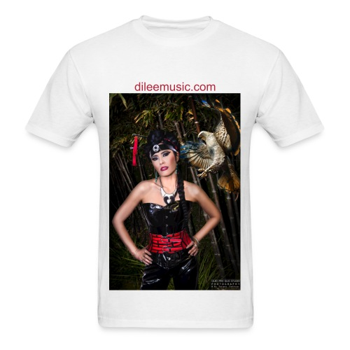 Dīlee black and red - Men's T-Shirt