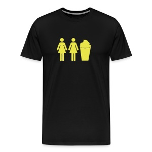 2 girls 1 cup Tshirt - Men's Premium T-Shirt
