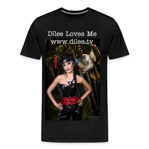 Dīlee loves me red and black - Men's Premium T-Shirt
