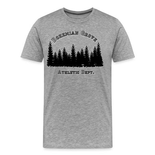 Bohemian Grove Athletic Dept (Forest) - Men's Premium T-Shirt