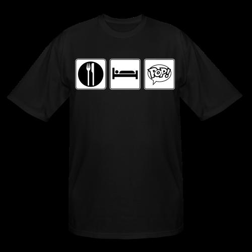 Eat. Sleep. Pop! - Men's Tall T-Shirt