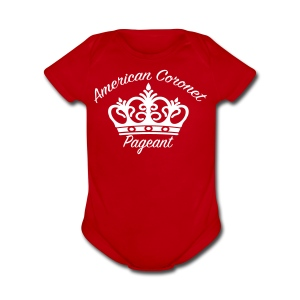 Short Sleeve Baby Bodysuit - Pick your color shirt & logo on this T-Shirt.