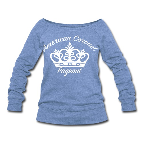 Women's Wideneck Sweatshirt - Pick your color shirt & logo on this T-Shirt.