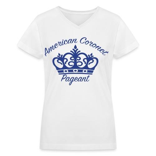 Smooth Print Women's Logo T-Shirt - Women's V-Neck T-Shirt