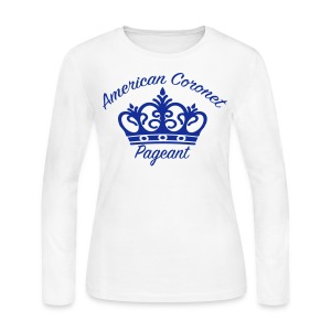 Women's Long Sleeve Jersey T-Shirt - Pick your color shirt & logo on this T-Shirt.