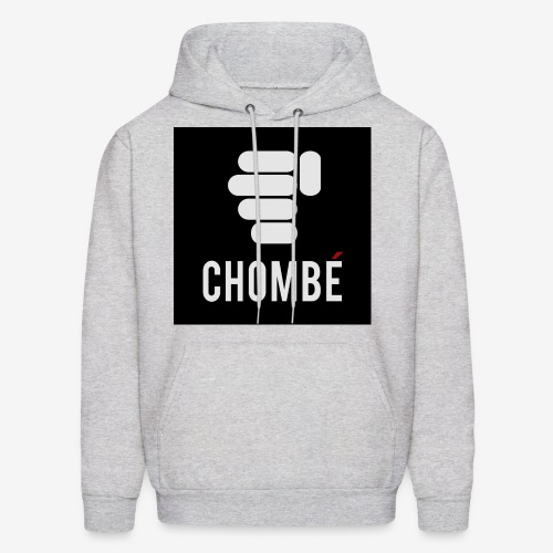 Men's Grey hooded Sweatshirt/Pullover with New design Chombe (French version of Chop Nuckle) - Men's Hoodie