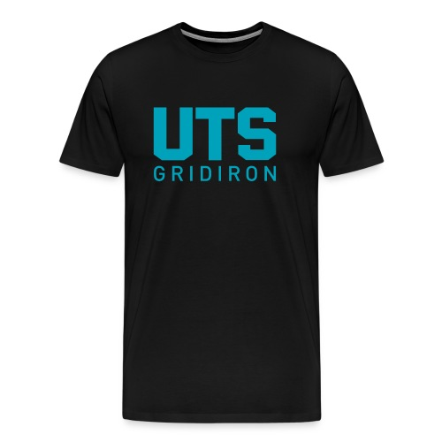 Men's UTS Gridiron Premium T-shirt - Black - Men's Premium T-Shirt