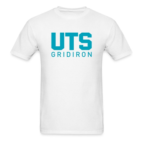 Men's UTS Gridiron Regular T-shirt - White - Men's T-Shirt